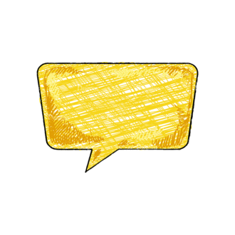 Scribbled Speech Bubbles Vector Speech Bubble 10 Clip Art - SVG & PNG vector