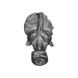 Skull Vector Clipart 1-1 Clip Art - SVG & PNG vector