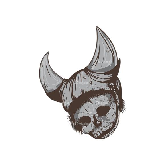 Skull Vector Clipart 1-12 Clip Art - SVG & PNG vector