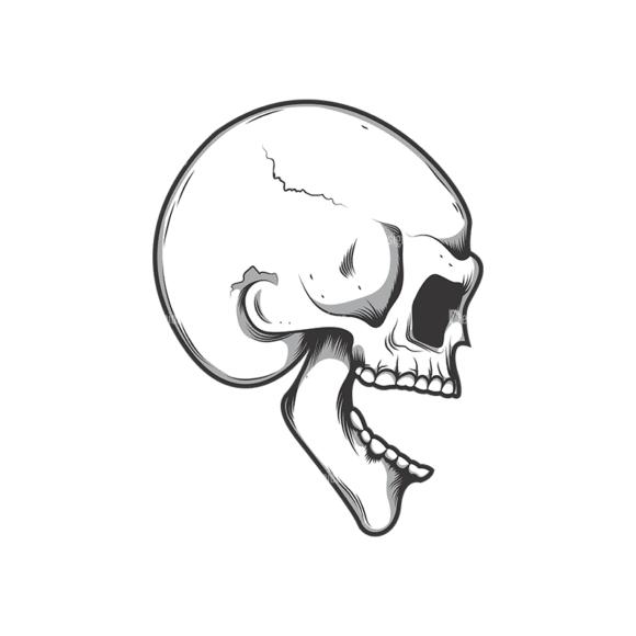 Skull Vector Clipart 10-7 Clip Art - SVG & PNG vector