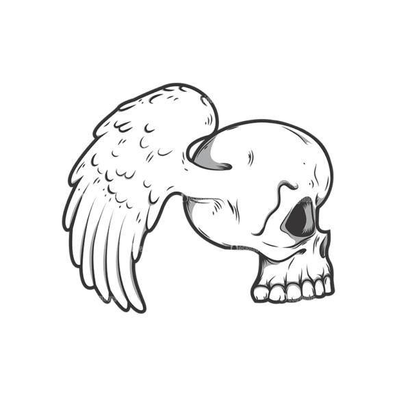 Skull Vector Clipart 11-2 Clip Art - SVG & PNG vector