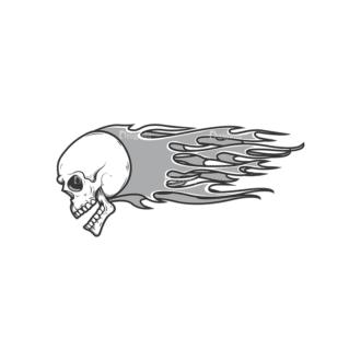 Skull Vector Clipart 11-3 Clip Art - SVG & PNG vector