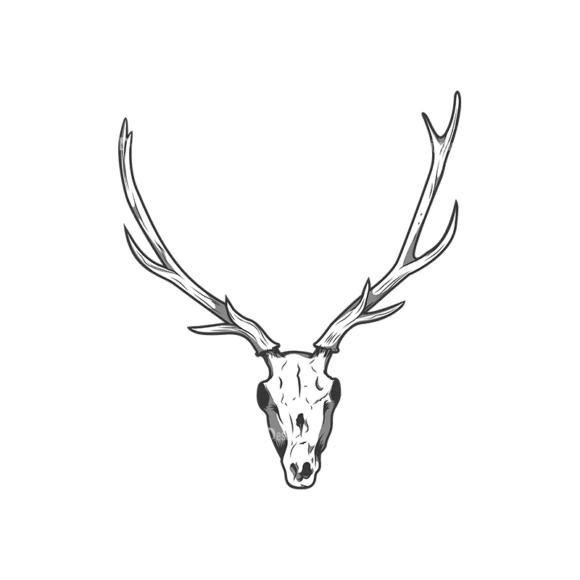 Skull Vector Clipart 12-6 Clip Art - SVG & PNG vector