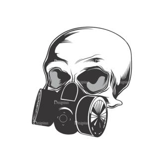 Skull Vector Clipart 13-12 Clip Art - SVG & PNG vector