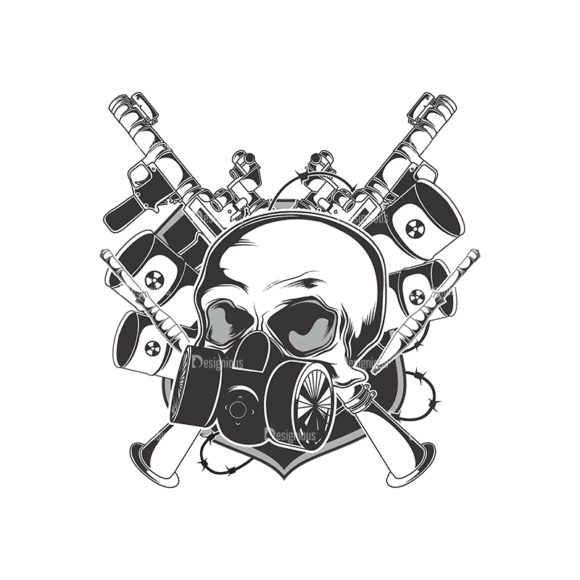 Skull Vector Clipart 13-2 Clip Art - SVG & PNG vector