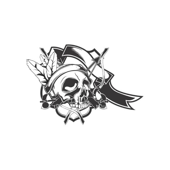 Skull Vector Clipart 15-1 Clip Art - SVG & PNG vector