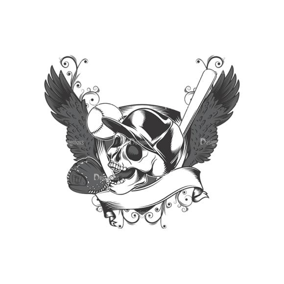 Skull Vector Clipart 16-2 Clip Art - SVG & PNG vector