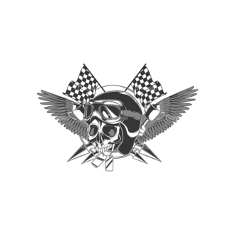 Skull Vector Clipart 17-1 Clip Art - SVG & PNG vector