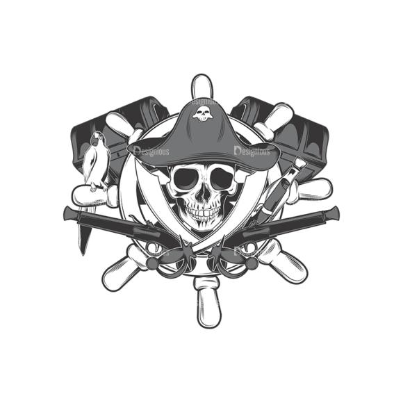 Skull Vector Clipart 17-2 Clip Art - SVG & PNG vector