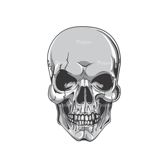 Skull Vector Clipart 19-1 Clip Art - SVG & PNG vector