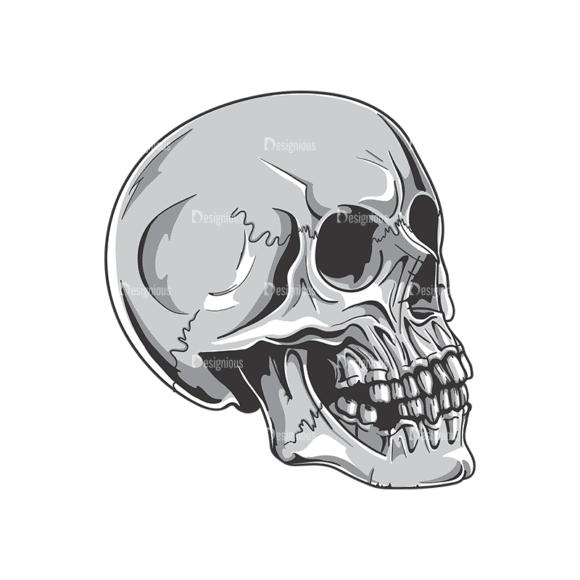 Skull Vector Clipart 19-2 Clip Art - SVG & PNG vector