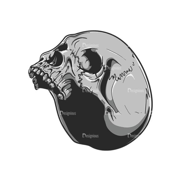 Skull Vector Clipart 20-7 Clip Art - SVG & PNG vector