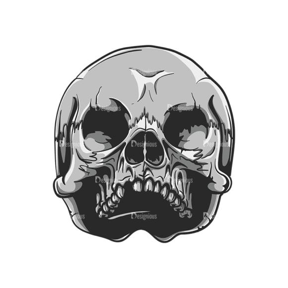 Skull Vector Clipart 20-9 Clip Art - SVG & PNG vector