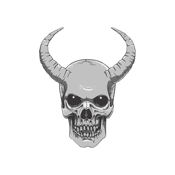 Skull Vector Clipart 21-3 Clip Art - SVG & PNG vector