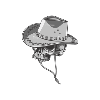 Skull Vector Clipart 22-5 Clip Art - SVG & PNG vector