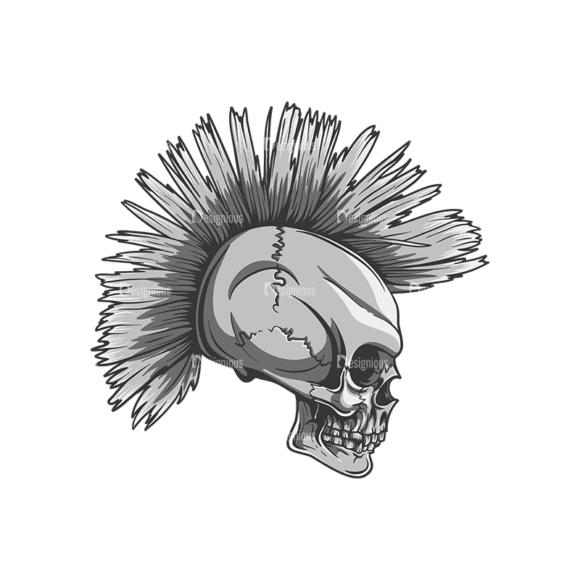 Skull Vector Clipart 22-7 Clip Art - SVG & PNG vector