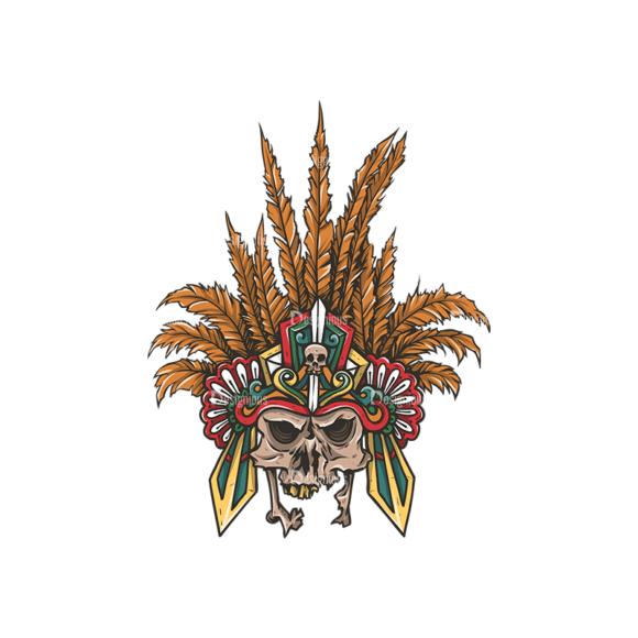 Skull Vector Clipart 29-3 Clip Art - SVG & PNG vector