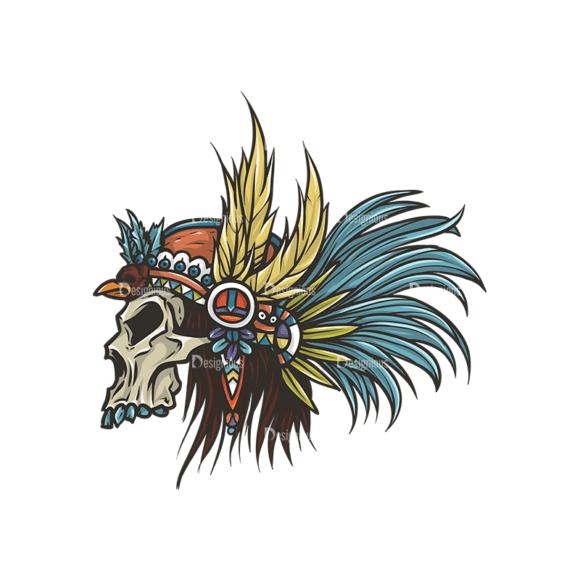 Skull Vector Clipart 29-6 Clip Art - SVG & PNG vector