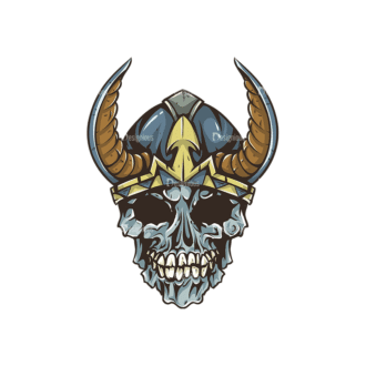 Skull Vector Clipart 30-1 Clip Art - SVG & PNG vector