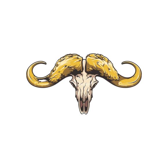Skull Vector Clipart 32-1 Clip Art - SVG & PNG vector
