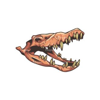 Skull Vector Clipart 32-5 Clip Art - SVG & PNG vector