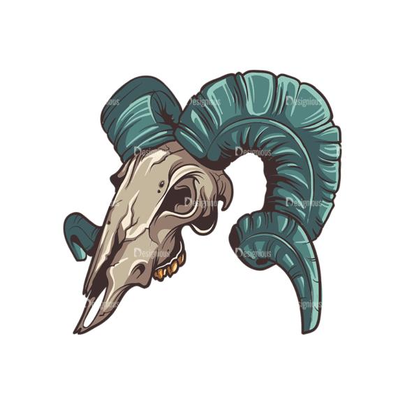 Skull Vector Clipart 32-6 Clip Art - SVG & PNG vector