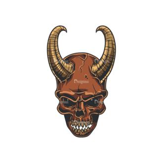 Skull Vector Clipart 35-3 Clip Art - SVG & PNG vector