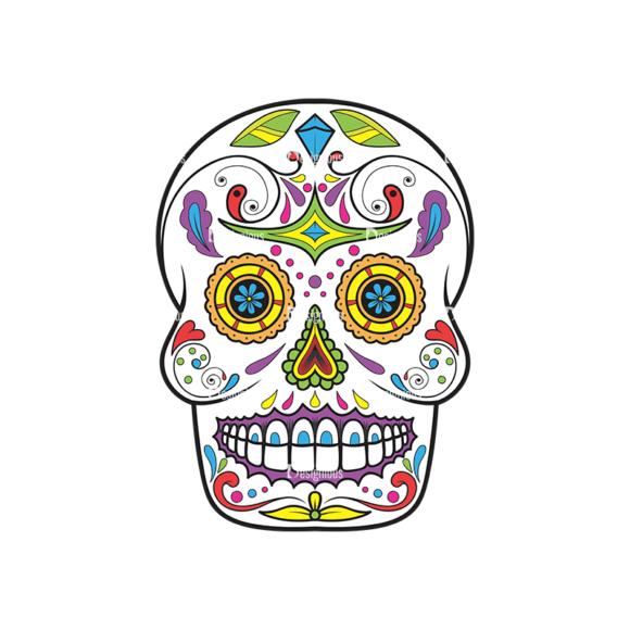Skull Vector Clipart 36-1 Clip Art - SVG & PNG vector