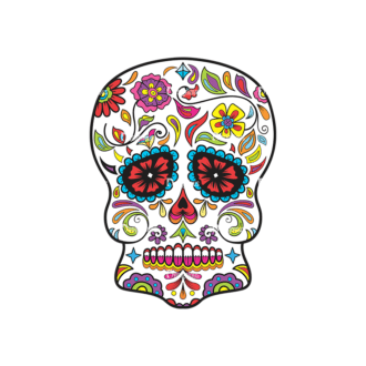 Skull Vector Clipart 36-2 Clip Art - SVG & PNG vector
