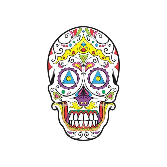 Skull Vector Clipart 36-4 Clip Art - SVG & PNG vector