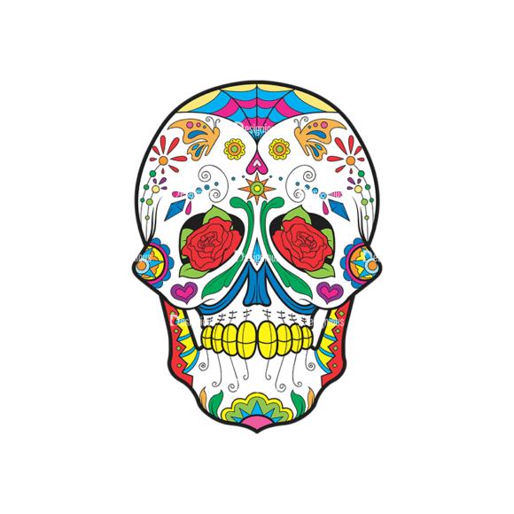 Skull Vector Clipart 37-3 Clip Art - SVG & PNG vector