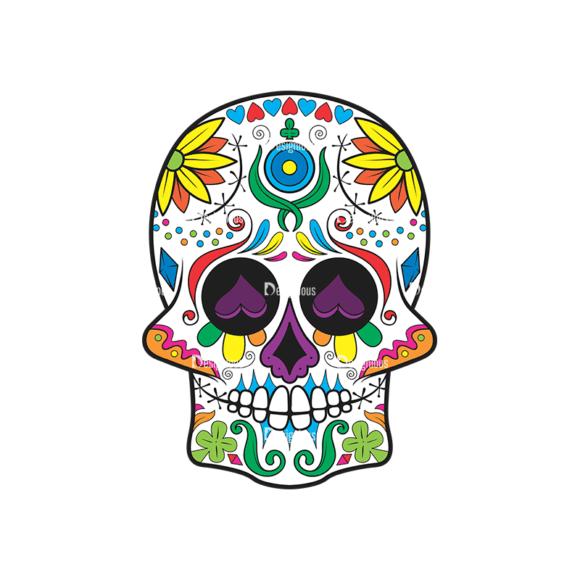 Skull Vector Clipart 37-4 Clip Art - SVG & PNG vector