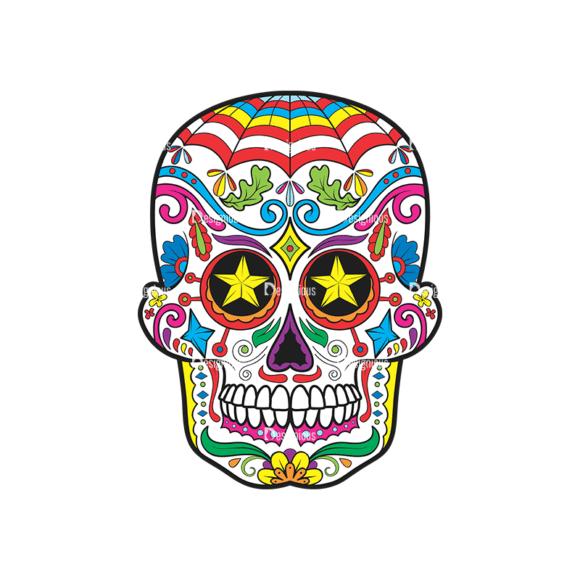 Skull Vector Clipart 37-6 Clip Art - SVG & PNG vector