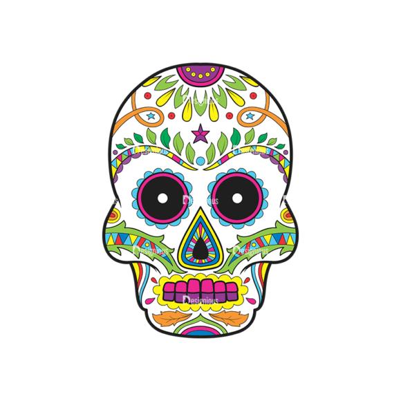 Skull Vector Clipart 38-1 Clip Art - SVG & PNG vector