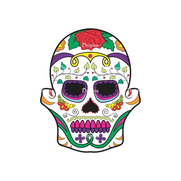 Skull Vector Clipart 38-3 Clip Art - SVG & PNG vector