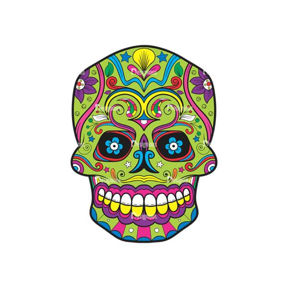Skull Vector Clipart 39-4 Clip Art - SVG & PNG vector