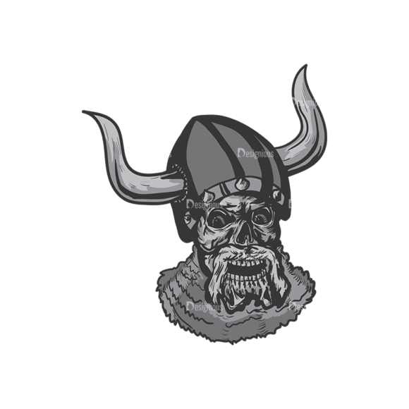 Skull Vector Clipart 4-11 Clip Art - SVG & PNG vector