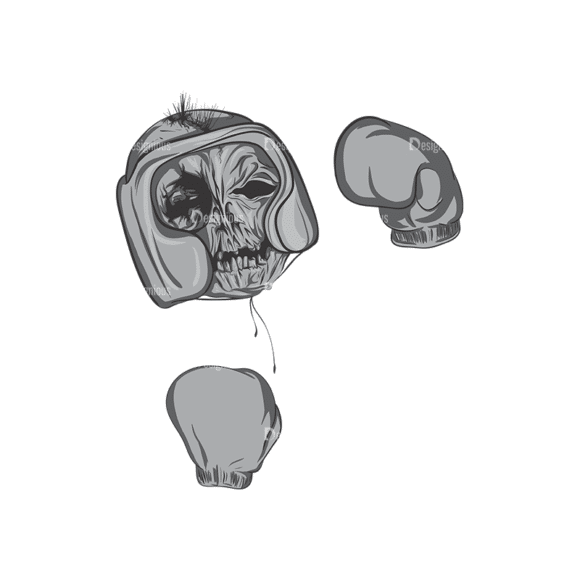 Skull Vector Clipart 4-3 Clip Art - SVG & PNG vector