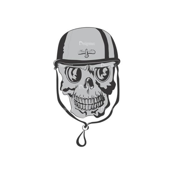 Skull Vector Clipart 4-9 Clip Art - SVG & PNG vector