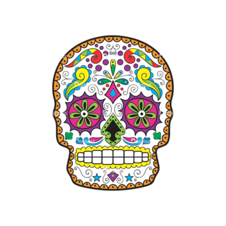 Skull Vector Clipart 43-3 Clip Art - SVG & PNG vector