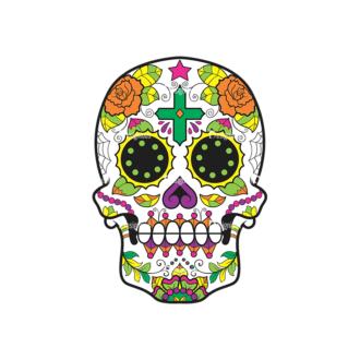 Skull Vector Clipart 44-2 Clip Art - SVG & PNG vector