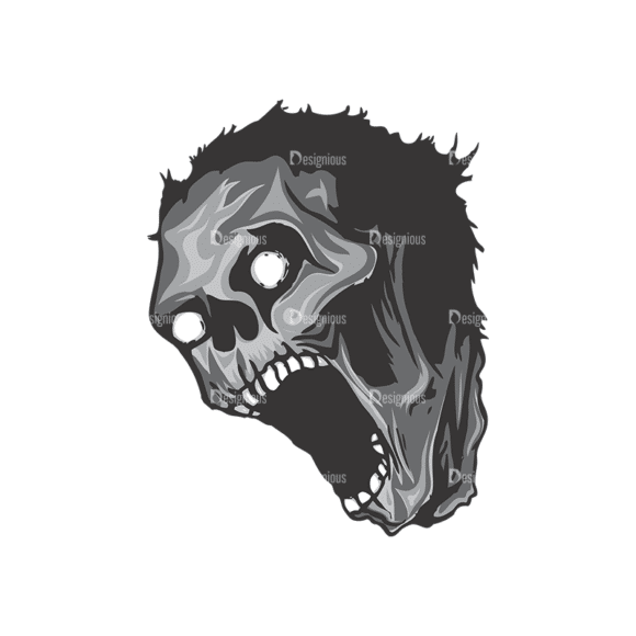 Skull Vector Clipart 5-4 Clip Art - SVG & PNG vector