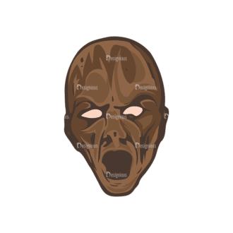 Skull Vector Clipart 5-6 Clip Art - SVG & PNG vector
