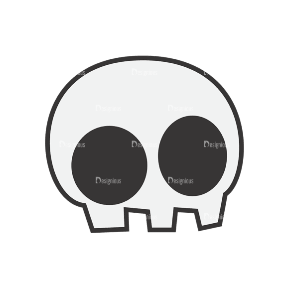 Skull Vector Clipart 7-10 Clip Art - SVG & PNG vector