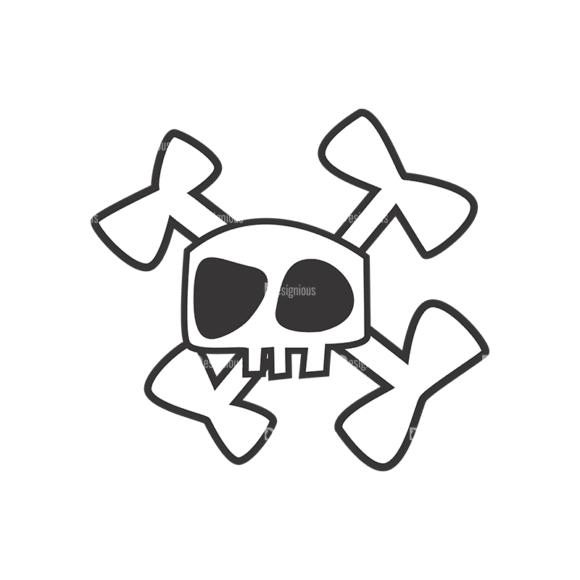 Skull Vector Clipart 7-11 Clip Art - SVG & PNG vector