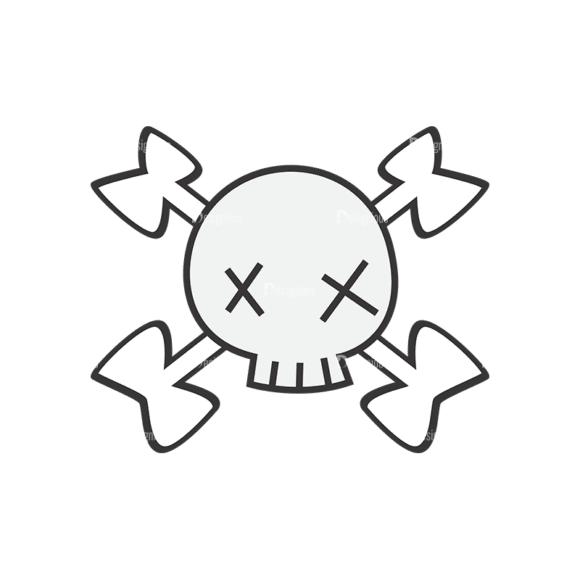 Skull Vector Clipart 7-17 Clip Art - SVG & PNG vector