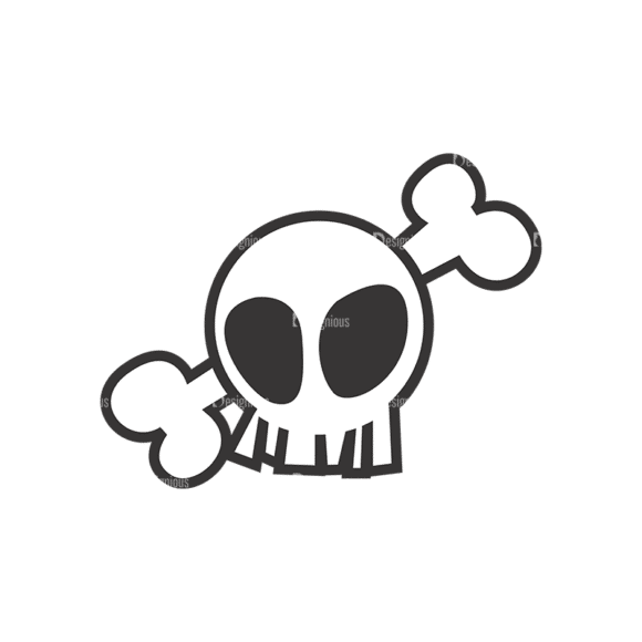 Skull Vector Clipart 7-2 Clip Art - SVG & PNG vector