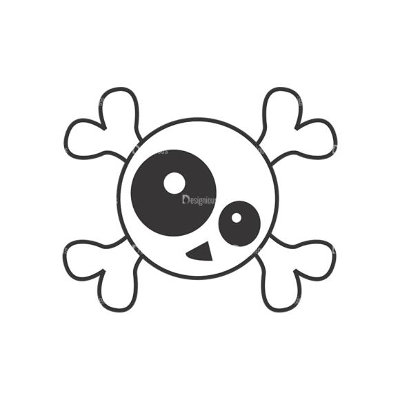 Skull Vector Clipart 7-20 Clip Art - SVG & PNG vector