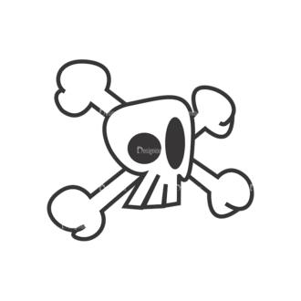 Skull Vector Clipart 7-3 Clip Art - SVG & PNG vector