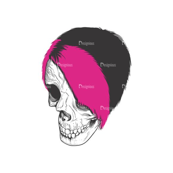 Skull Vector Clipart 9-1 Clip Art - SVG & PNG vector